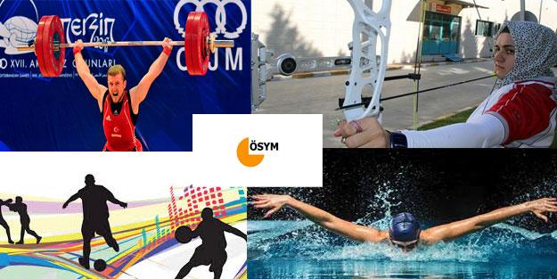 2018-YKS Milli Sporcu Yerleştirme sonuçları son dakika açıklandı