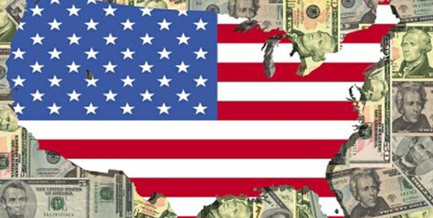 ABD ekonomisi darboğazda! Bütçe açığı 1 trilyon dolar