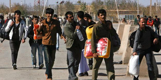 Afganlar ülkelerine gönderiliyor