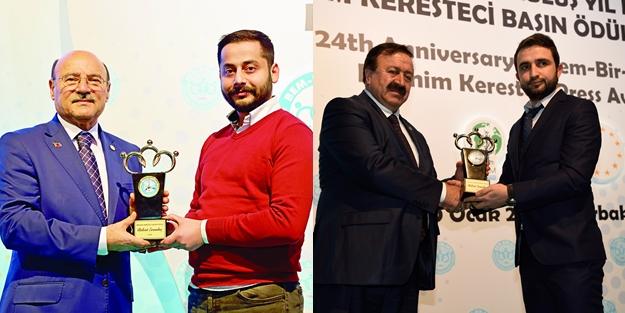 Akit Gazetesi'ne iki ödül birden!