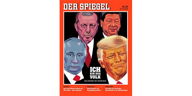 Alman Spiegel baş sıraya Erdoğan'ı koydu!