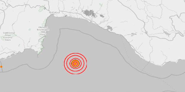 Antalya Kumluca'daki deprem kaç büyüklüğünde?