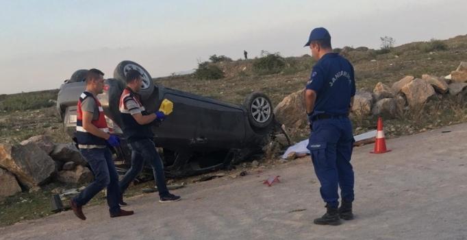 Bursa'da emanet araba ile kaza yaptı, canından oldu