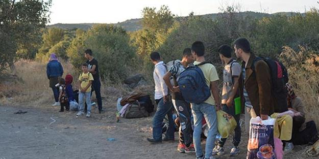 Çanakkale'de 42 kaçak mülteci yakalandı
