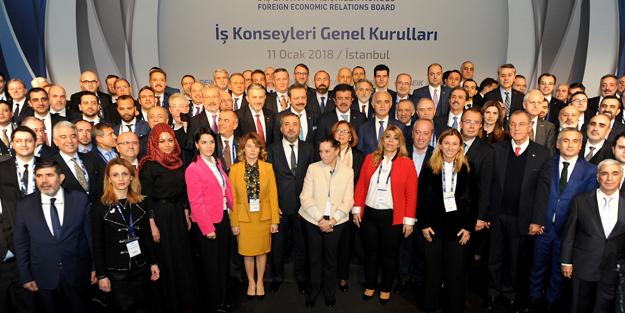 DEİK'te 142 iş konseyinden 66'sı için yeni başkan seçildi