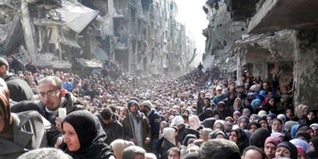 'Halep'te İnsanlık Ölmesin' kampanyası!