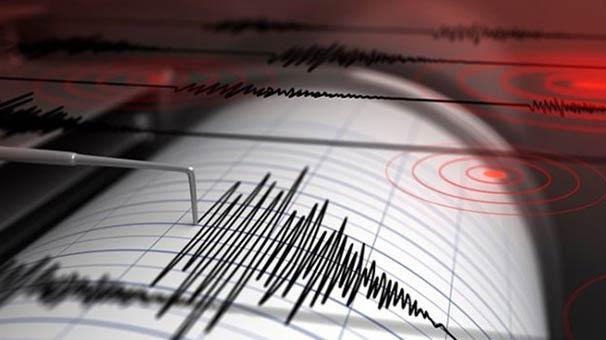 Ege Denizi'nde 5.0 büyüklüğünde deprem