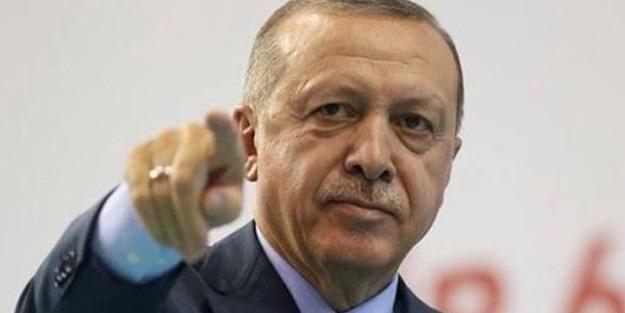 Erdoğan'dan çok sert tepki: İspat etmezsen namertsin