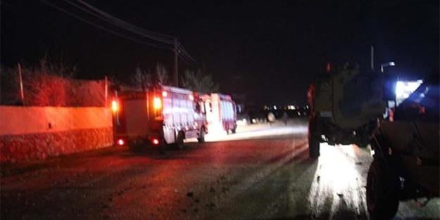 Hudut Karakoluna gece yarısı taciz ateşi