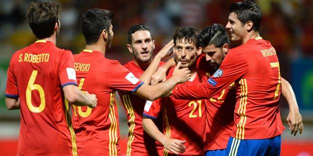 İspanya'dan Hırvatistan'a tarihi fark! Tam 6 gollü karşılaşma