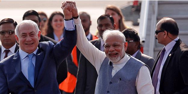 İsrail ile Hindistan el ele verdi