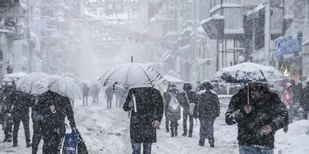 İstanbul'da 'kar yağışı' uyarısı! Ve başladı...