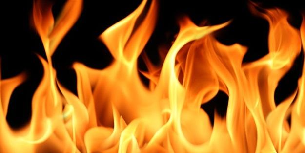 Kahramanmaraş'taki kağıt fabrikasında yangın çıktı