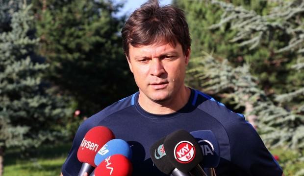 Kayserispor Teknik Direktörü Sağlam: Kırılma maçımız olacak