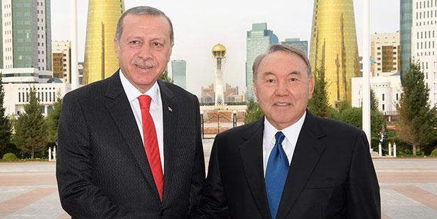 Nazarbayev yarın Türkiye'ye gelecek