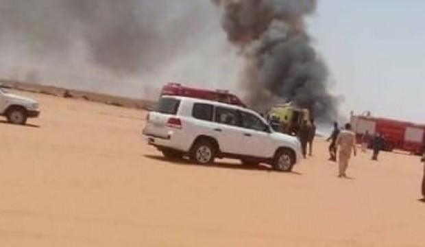 Libya'da şiddetli çatışmalar! Havalimanına roket atıldı