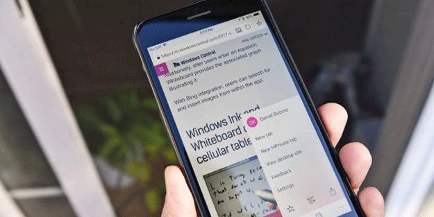 Microsoft Edge iOS ve Android için duyuruldu!