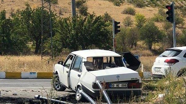 Nevşehir'de kırmızı ışık ihlali ölüm getirdi: 2 ölü, 3 yaralı