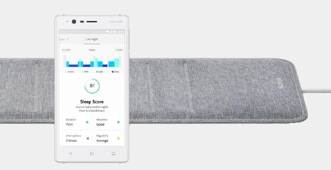 Nokia'nın yeni sağlık ürünü uykunuzu takip edecek