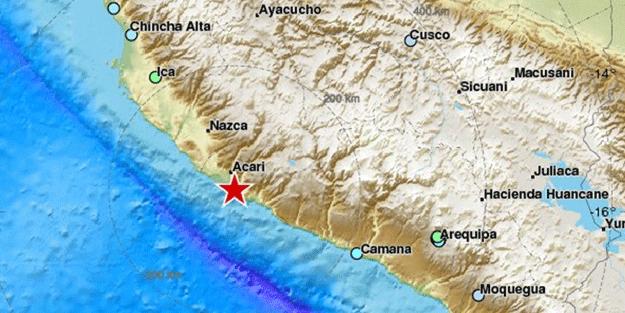 O ülkede 7.3'lük deprem!