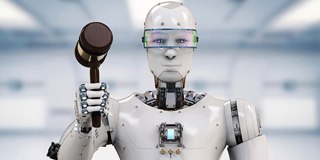 'Robot Hukuku' geliyor