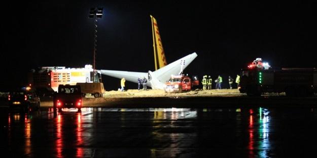 Uçak az daha denize giriyordu! Pegasus'tan ilk açıklama