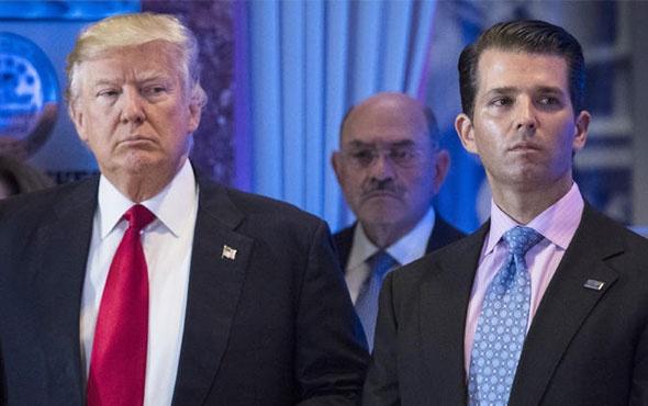 Trump 'ın oğlu itiraf etti! Bu utanç verici...