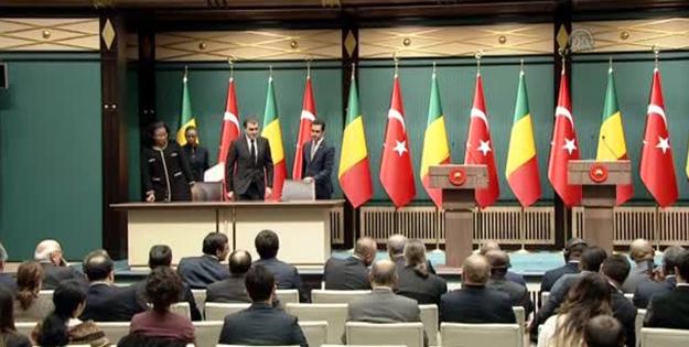 Türkiye ve Mali'den işbirliği anlaşması!