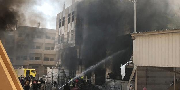 Ülke şokta… Karargaha bombalı saldırı