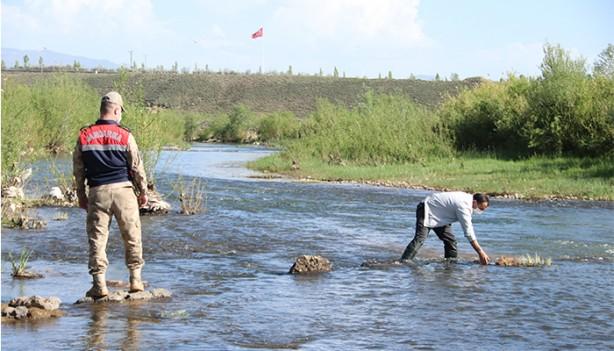 1 ton canlı inci kefali suya bırakıldı