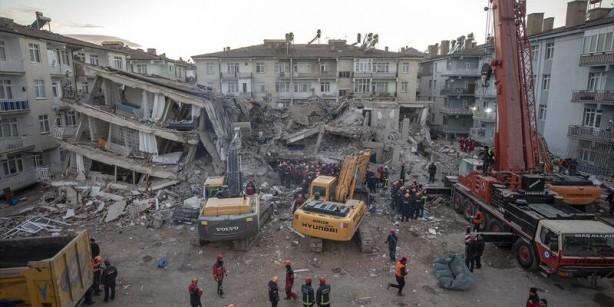 Foto - ELAZIĞ DEPREMİ: 2- Elazığ depremi tüm Türkiye'yi derinden sarstı 24 Ocak 2020'de Elazığ'ın Sivrice ilçesinde 6.8'lik deprem meydana geldi. Depremde 35'i Elazığ'da, 4'ü Malatya'da olmak üzere 41 kişi hayatını kaybetti, bin 607 kişi de yaralandı. Derinliği 6,75 kilometre olan depremin ardından yapılan arama-kurtarma çalışmaları sonucunda 45 kişi enkaz altından sağ çıkarıldı. Depremden sonraki günlerde ise aynı bölgede binden fazla artçı deprem yaşandı.