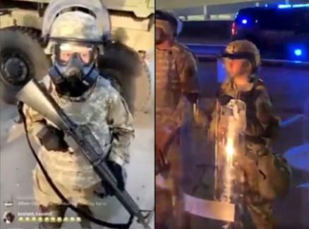 ABD'de şiddetin dozunu arttıran iddia! 'Silahlı çocuk askerler' protestoculara karşı