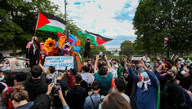 Foto - ABD Dışişleri Bakanlığı Sözcüsü Ned Price ve Beyaz Saray Sözcüsü Jen Psaki düzenlediklerini basın toplantılarında Filistin'i kınamaktan kaçınmıştı.