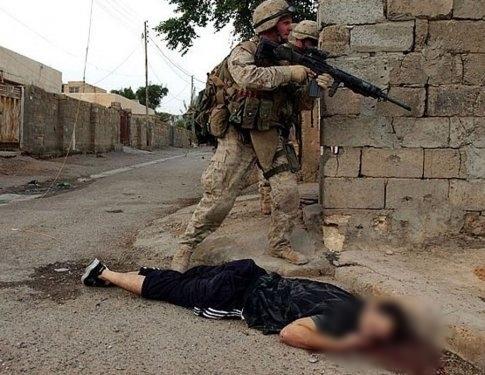 ABD'nin Irak işgalindeki korkunç katliamları