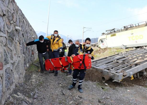 Foto - Haber verilmesi üzerine olay yerine 112 Acil Servis ekipleri sevk edildi.
