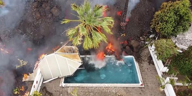 Adeta kıyamet sahnesi! Patlayan lavlar 2 bin 185 binayı yuttu