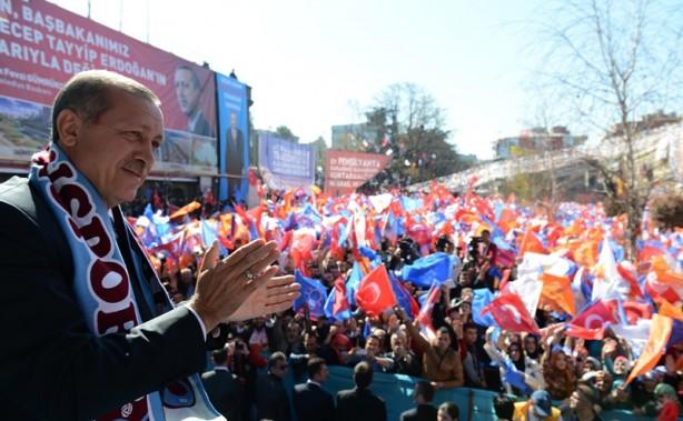 AK Parti Trabzon mitingi - Fotoğraf 14