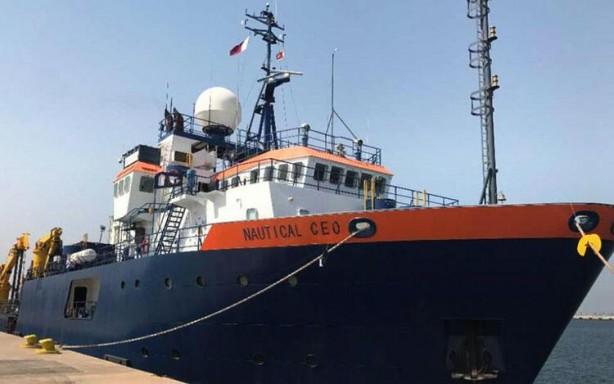 Foto - Uyarının ardından Nautical Geo bölgeyi terk etti, deniz trafik kayıtları araştırma gemisinin Çarşamba günü itibariyle Girit Adası'nın doğusundaki Kandiye'de bir limana demirlediğini gösteriyor.
