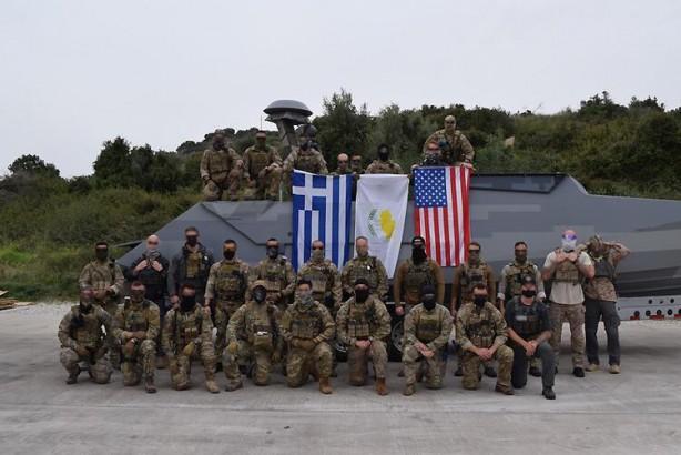 Foto - Habere göre, Atina yönetimi halihazırda Suda Üssü'nde bulunan ABD birliklerinin Yunanistan'ın ortasındaki Larissa veya daha kuzeydeki Dedeağaç'a yerleşmesini talep ediyor.