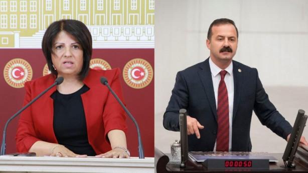 Foto - Son günlerde İYİ Parti ile HDP arasında kavga başladı.