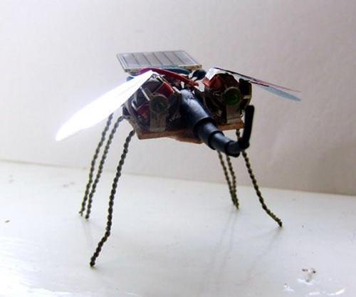 Как сделать летающий робот