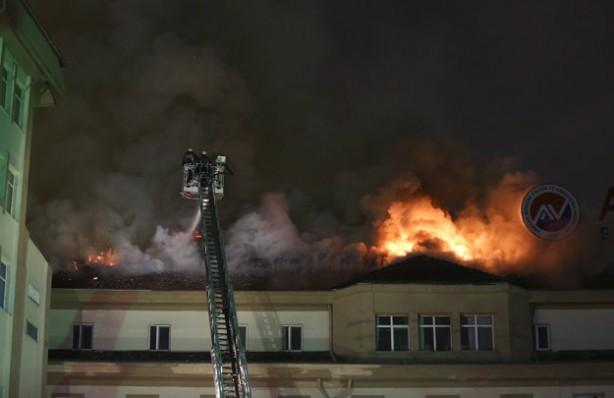 Ankara Numune Hastanesi'nde büyük yangın