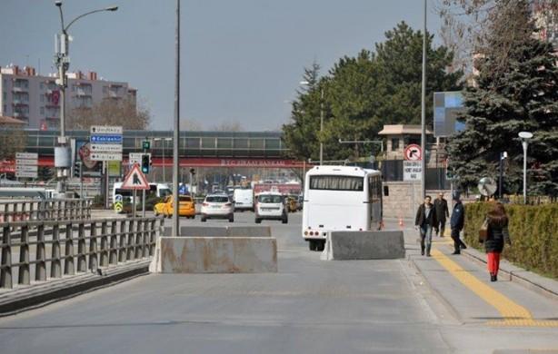 Ankara'nın hassas noktalarında güvenlik önlemleri