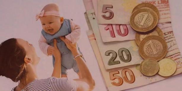 Annelere çocuk yardımı nasıl alınır? Doğum yardımı ne kadar başvurular  nereye