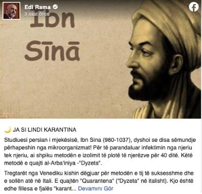 Foto - Rama'nın sosyal medya hesabından yaptığı o paylaşım...