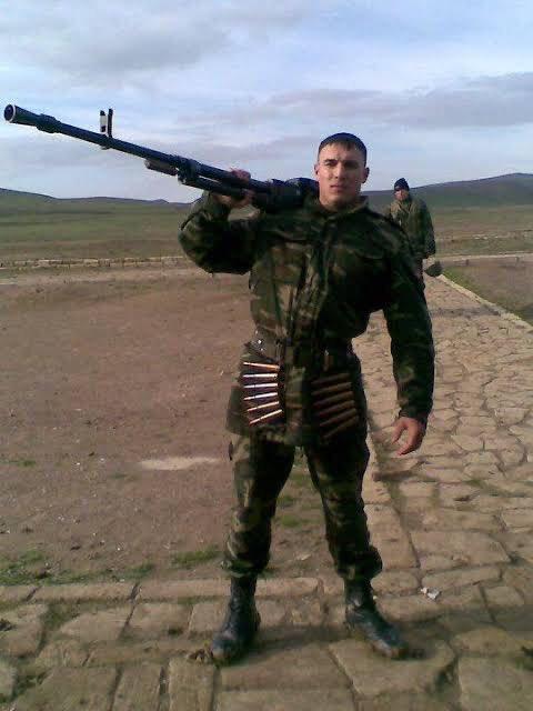 Foto - 19 Haziran 2010 tarihinde gece saat 23.30 civarında Mübariz İbrahimov, kimseye haber vermeden, sadece