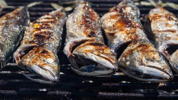 Foto - 3-Yağlı balıklar Yağlı balıklar, anti-enflamatuvar etkiye sahip omega-3 yağ asitleri EPA ve DHA açısından zengindir. Migren ataklarını yönetmeye yardımcı olduğu gösterilen riboflavin (B2) dahil olmak üzere B vitaminleri içerirler.