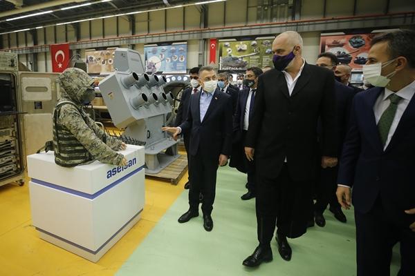 Foto - Konuk Başbakan, ASELSAN ziyaretinin ardından Türkiye'den ayrıldı.