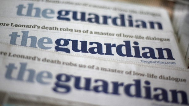 Foto - İngiliz Guardian'da yer alan haberde