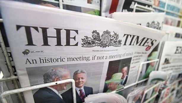 Foto - İngiliz The Times gazetesi ise Macron'un tatil fotoğrafı üzerinden